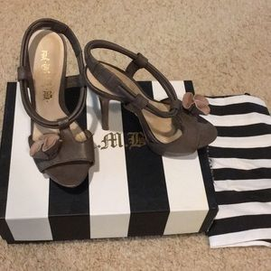 L.A.M.B lavender stiletto heels